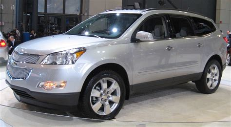 chevy traverse third row seating crossover suvs with third row seating