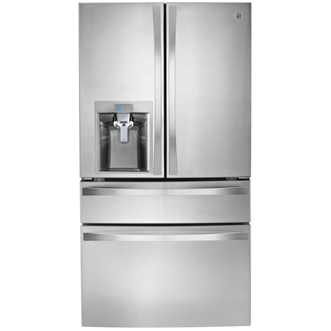 Kenmore Elite Door Refrigerator by Kenmore Elite 29 9 Cu Ft 4 Door Refrigerator W