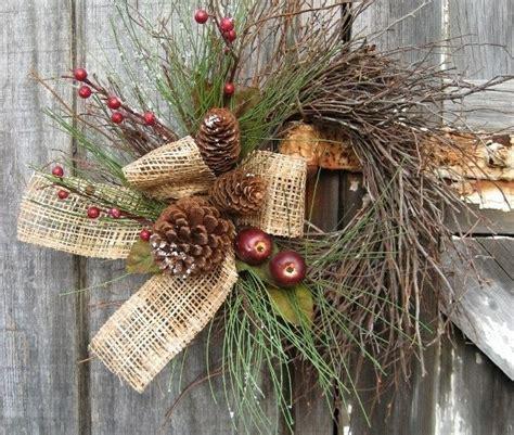 winter deko mit naturmaterialien  maerchenhafte ideen