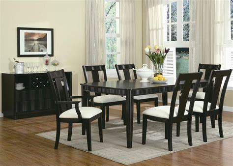 casual dining wave dining room set by coaster
