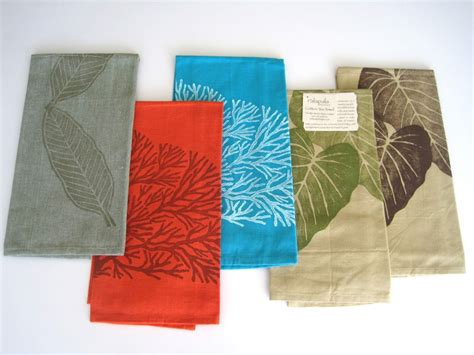 Designer Kitchen Towels Cotton Tea Towels Palapala Designs