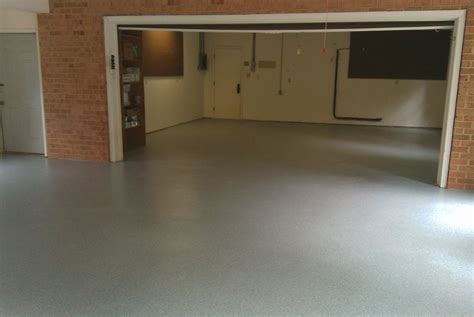 vinyl floor garage vinyl chip epoxy photos decorative concrete of virginia va
