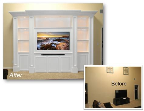 custom cabinets orange county ca built ins home theater
