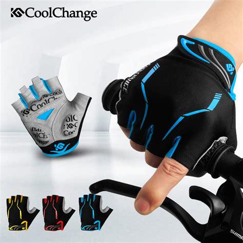coolchange sarung tangan sepeda half finger sporty size l