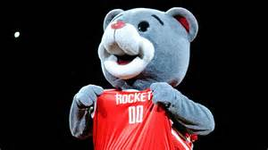Clutch the rockets mascot celebrates 20th work anniversary
