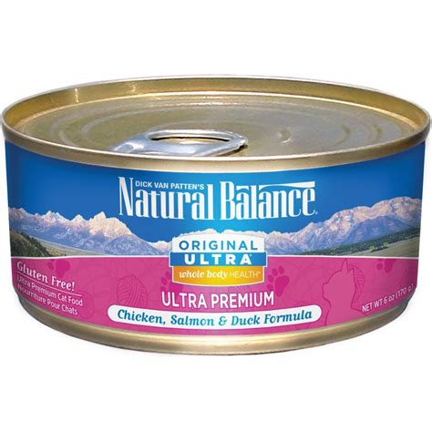 balance canned food balance original ultra whole health chicken salmon duck formula canned