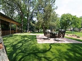 synthetic turf bibo new mexico lawn and garden backyard