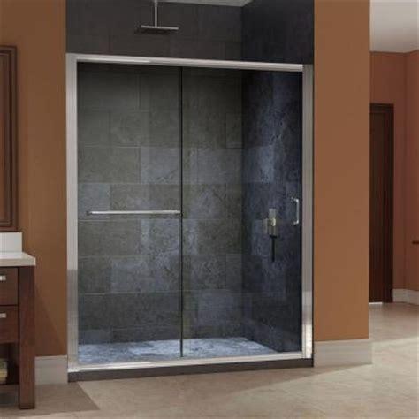 Shower Door Wheels Home Depot by Dreamline Infinity Z 56 In To 60 In X 72 In Frameless