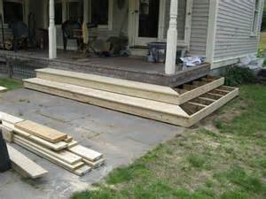 Back Porch Stairs Design Back Porch Stairs Design Steps For Back Porch Porch Step Ideas Back Porches Porches And