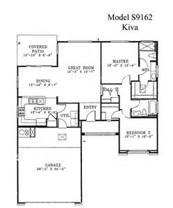 Model Home Floor Plans by Sun City Grand Kiva Floor Plan Del Webb Sun City Grand