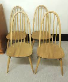 1950s ercol dining chairs antiques atlas retro set of 4 ercol quaker dining chairs