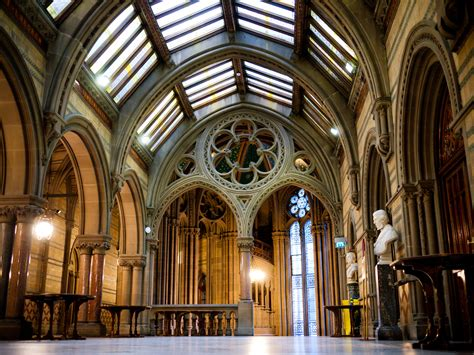 Medieval House Interior by File Manchester Town Hall Great Hall Foyer Jpg