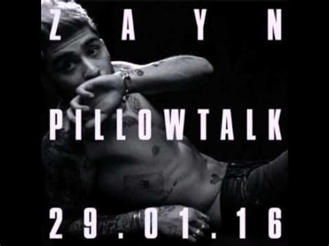 Pillow Talk Audio zayn malik pillowtalk lyrics official audio