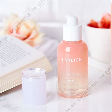 Harga Laneige Fresh Calming Serum the cosmetics laneige fresh calming serum 80ml