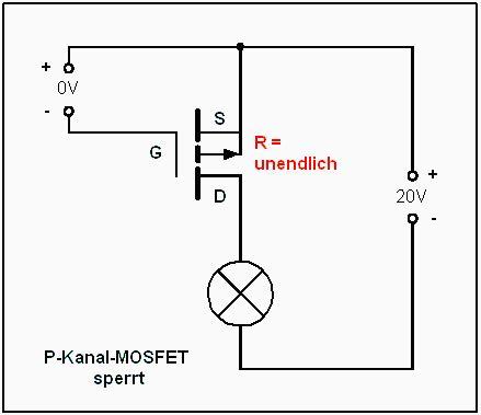 transistor jfet kanal n p kannal mosfet mit optokoppler ansteuern