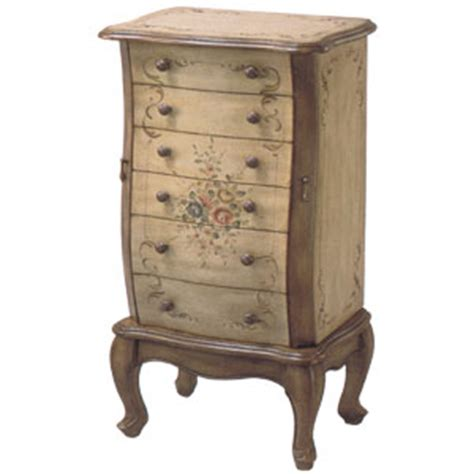 hand painted jewelry armoires jewelry armoire hand painted jewelry armoire 1356 itm