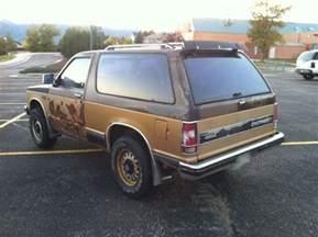 1984 chevrolet s 10 blazer 4x4 chevy s10 2 door for parts