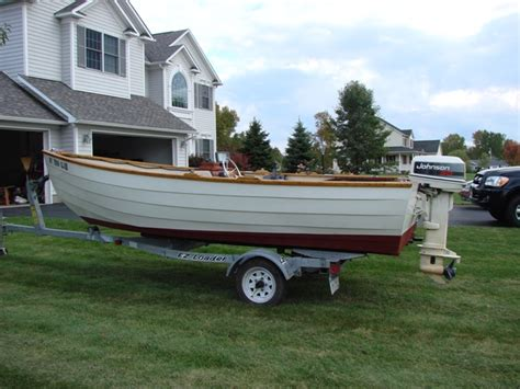 boat dory size 1993 16 amesbury dory sturdee for sale the hull truth