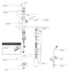 moen single handle kitchen faucet parts diagram moen ca87666w parts list and diagram ereplacementparts