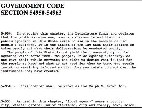 California Code Section a31 068 crackpot contracts agenda31 org