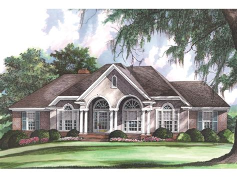 french country ranch house plans gallatin country french home plan 019d 0013 house plans