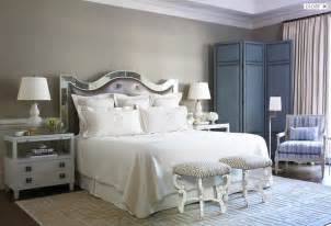 mirror headboard bedroom hill interiors