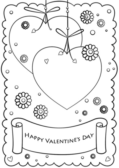 Happy Valentine S Day Coloring Page Free Printable Happy Valentines Day Coloring Pages