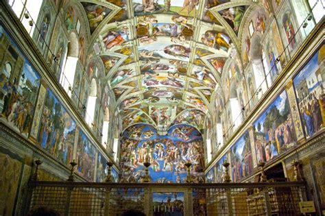 Sistine Chapel Ceiling Painting by Vatican Museum Must Sees Top 10