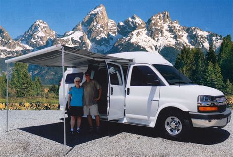 Awnings For Vans by Sportsmobile Custom Cer Vans Options