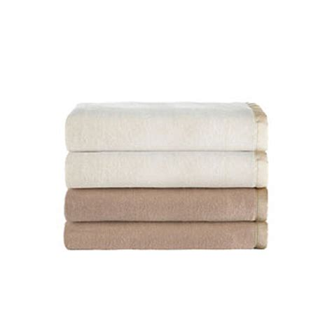 Sunbeam Therapedic Heated Blanket by Sunbeam Cotton Blend Heated Electric Blanket