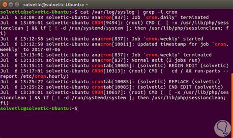tutorial cron linux programar trabajos en linux con comandos cron y crontab