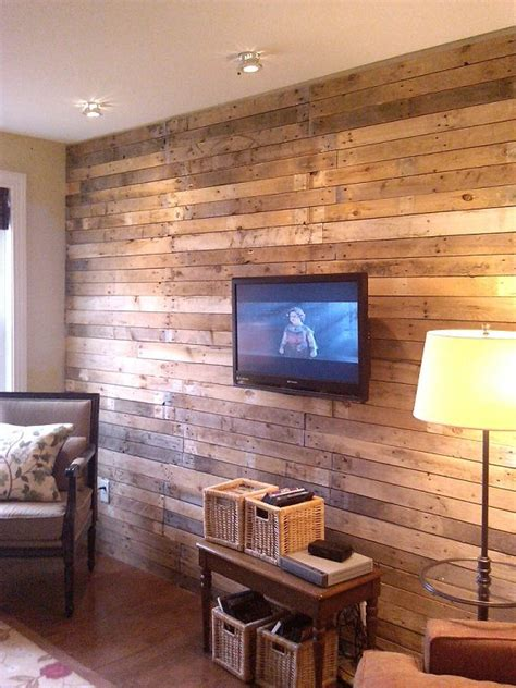 pallet wall upcycle that