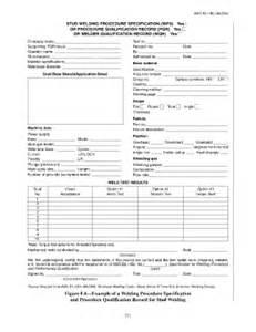 blank welding procedure specification fill online