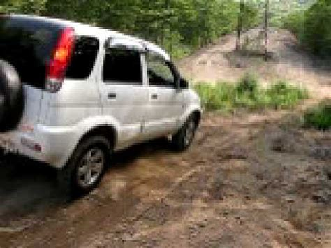 daihatsu terios off road daihatsu terios off road vladivostok youtube