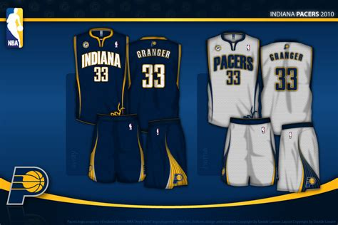jersey design indiana pacers indiana pacers uniform concept by daveship