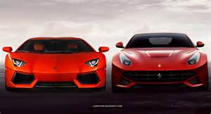 Pictures Of Ferraris And Lamborghinis Poll Which Is The Better Looking Supercar The