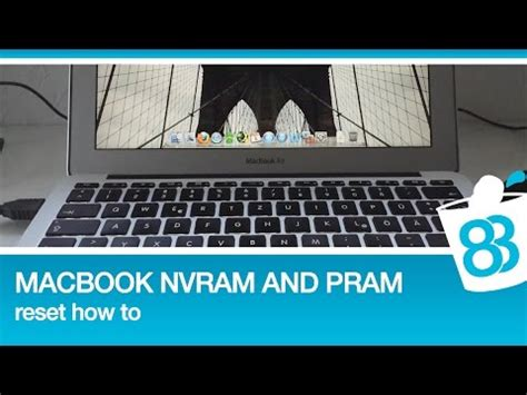 reset nvram macbook air 2015 macbook nvram and pram reset how to youtube