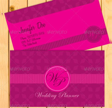 wedding planner business card templates free 25 wedding planner business card templates