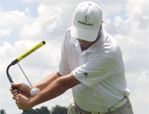 Amazing Angle? Golf Swing Training Aid » Review
