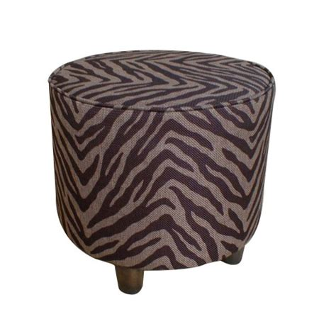 round zebra ottoman cheap ottomans and footstools rating review zebra round