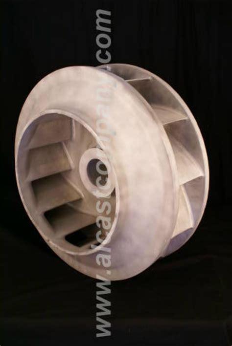 cast aluminum fan blades large cast aluminum centrifugal blower casting