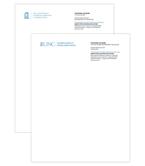 Unc Business Card Template by Business Cards And Stationery Cus Enterprises