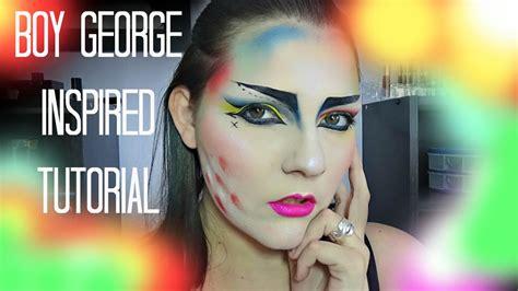eyeliner tutorial boy boy george inspired makeup tutorial youtube