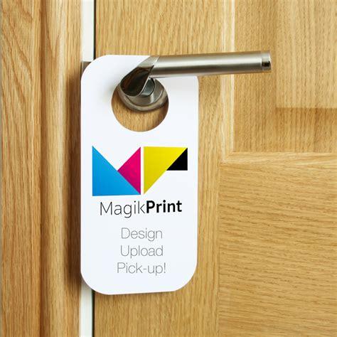 magikprint door hangers printing