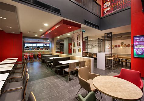 kfc store layout design kfc restaurant by cbte architecture turkey 187 retail