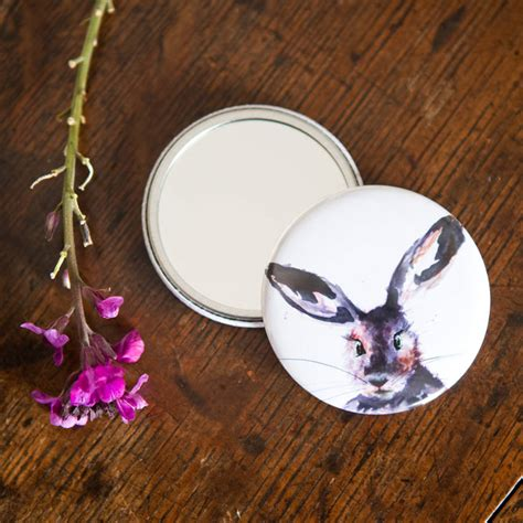 Review Inky Nature by Inky Hare Pocket Compact Mirror By Kate Moby