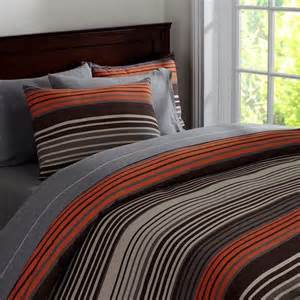 orange and grey comforter orange brown teen bedroom and bedding on pinterest