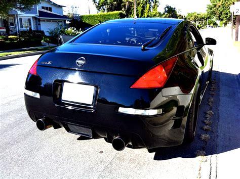 nissan 350z chargespeed rear bumper fs ft superblack chargespeed rear bumper and ing2
