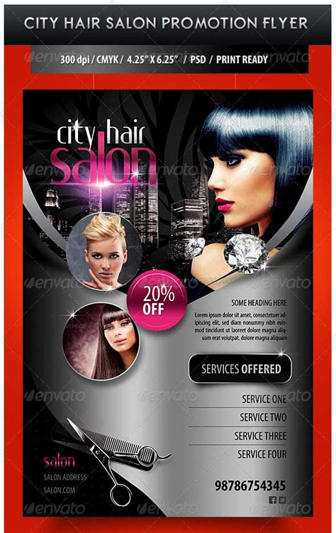 salon flyer templates free 35 best psd event flyer templates designmaz