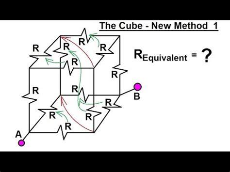 1 ohm resistor cube physics e m ohm s resistor circuit 19 of 23 the cube new method 1